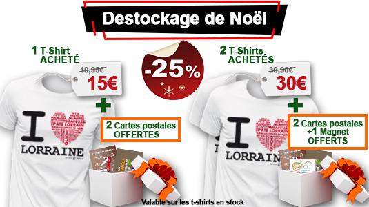 Destockage de Noël T-Shirt -25%